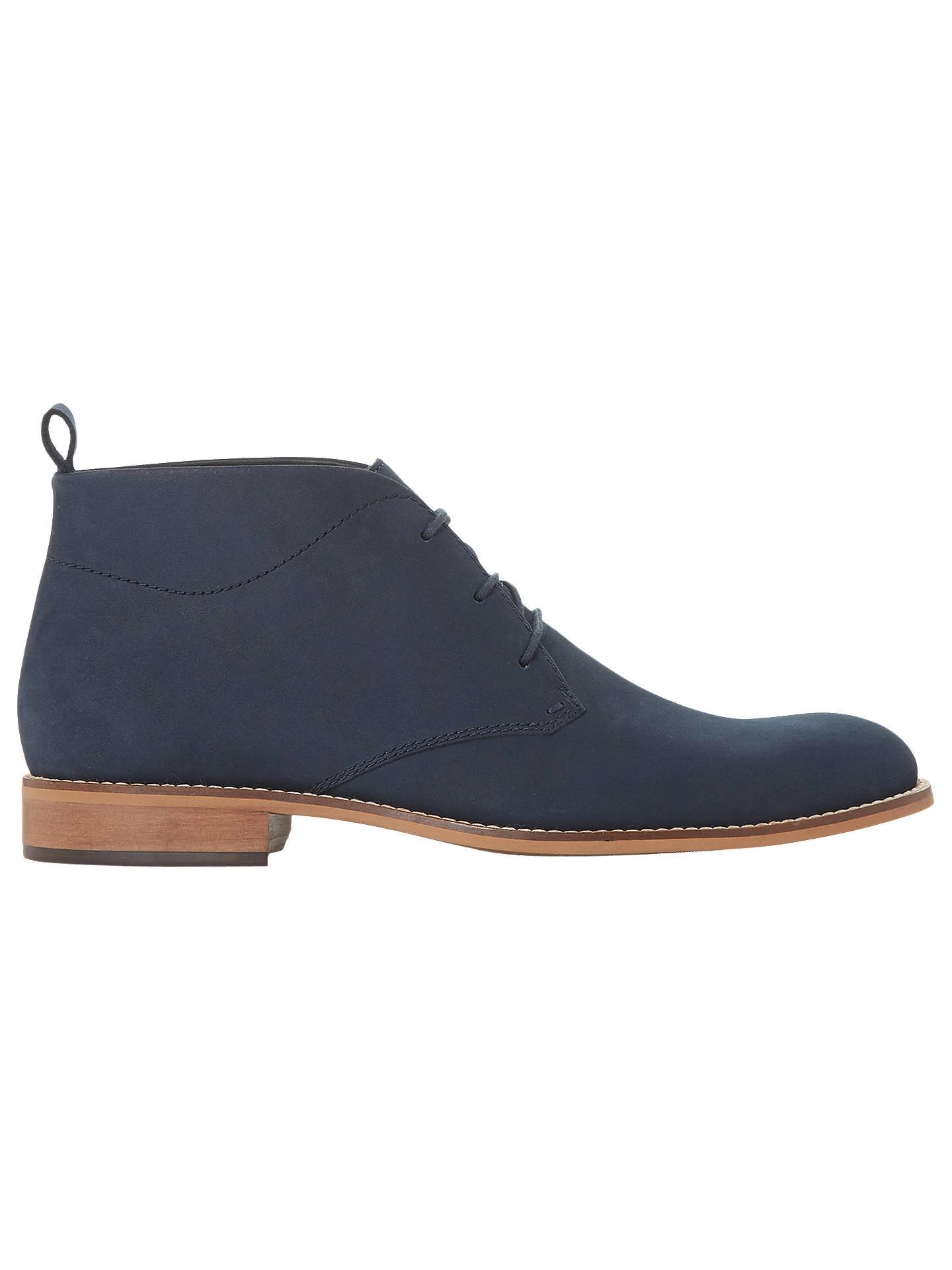 e130d1779ea685 Dune Messi Leather Chukka Boots at John Lewis   Partners