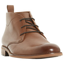 Buy Dune Messi Leather Chukka Boots Online at johnlewis.com