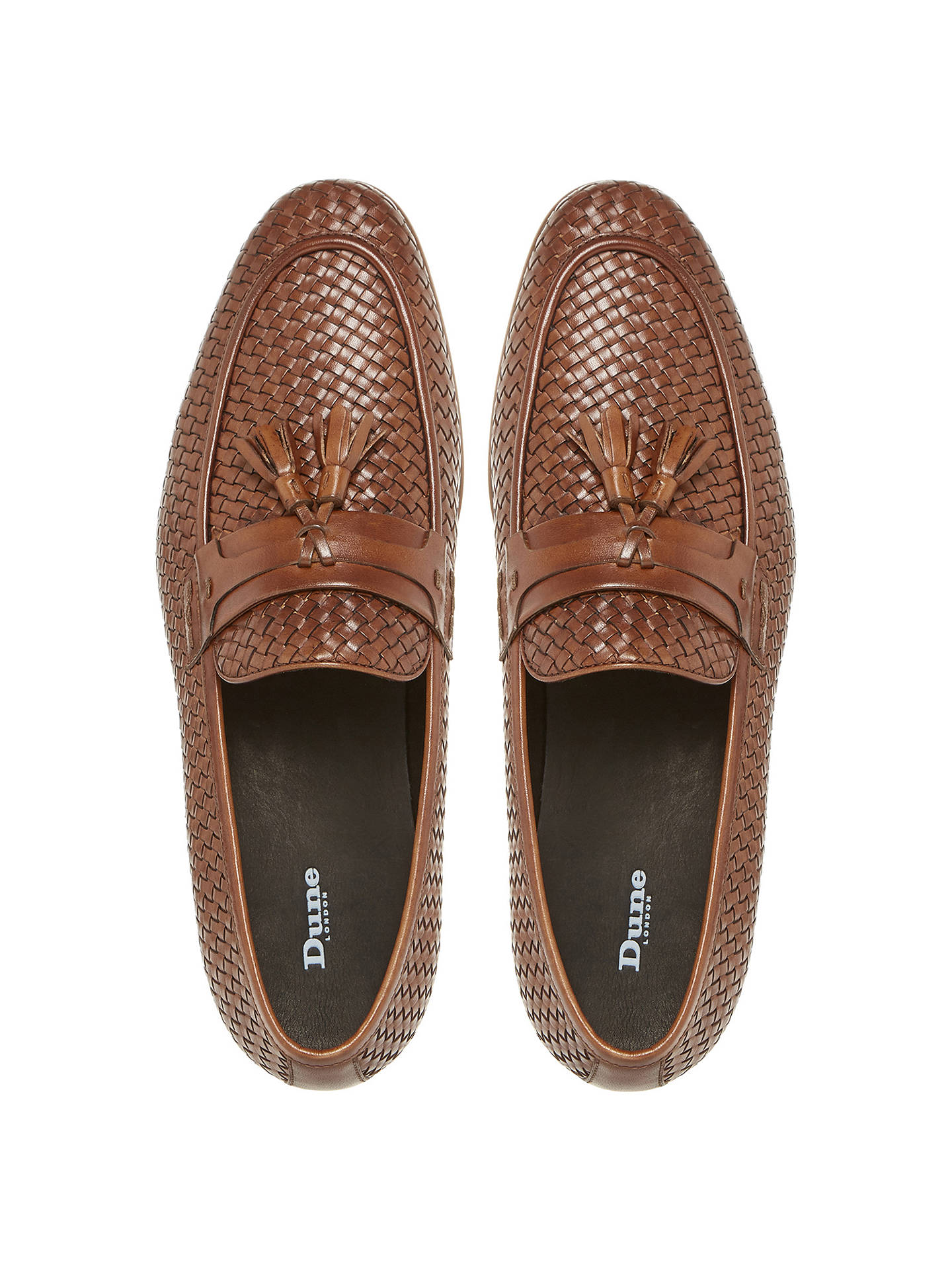 6c188fe67cc Dune Paolo Apron Stitch Tassel Loafers at John Lewis   Partners