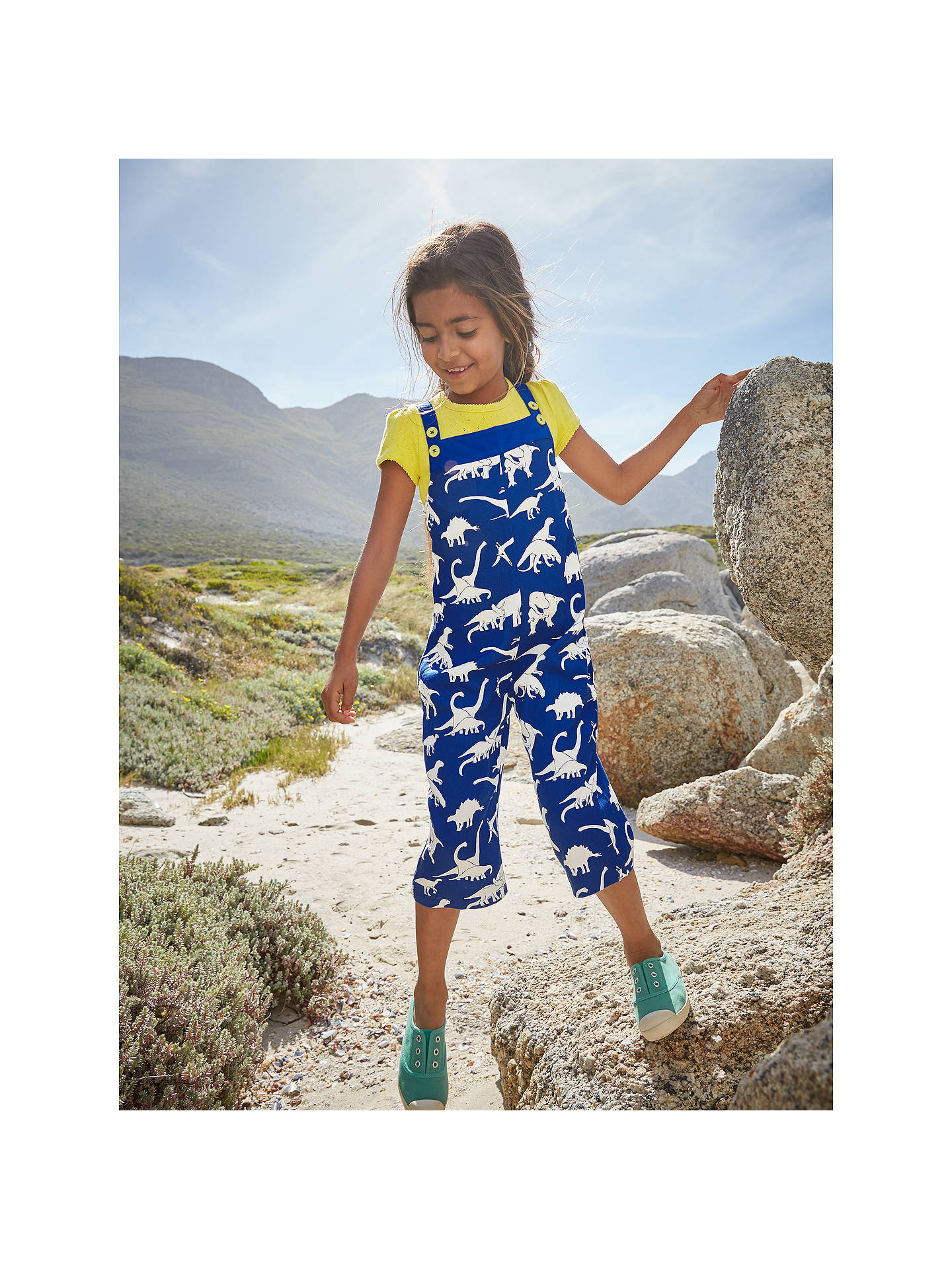 2879da1594 ... Buy Mini Boden Culotte Dinosaur Playsuit