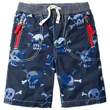 Buy Mini Boden Boys' Knee Length Adventure Shorts, Blue Online at johnlewis.com