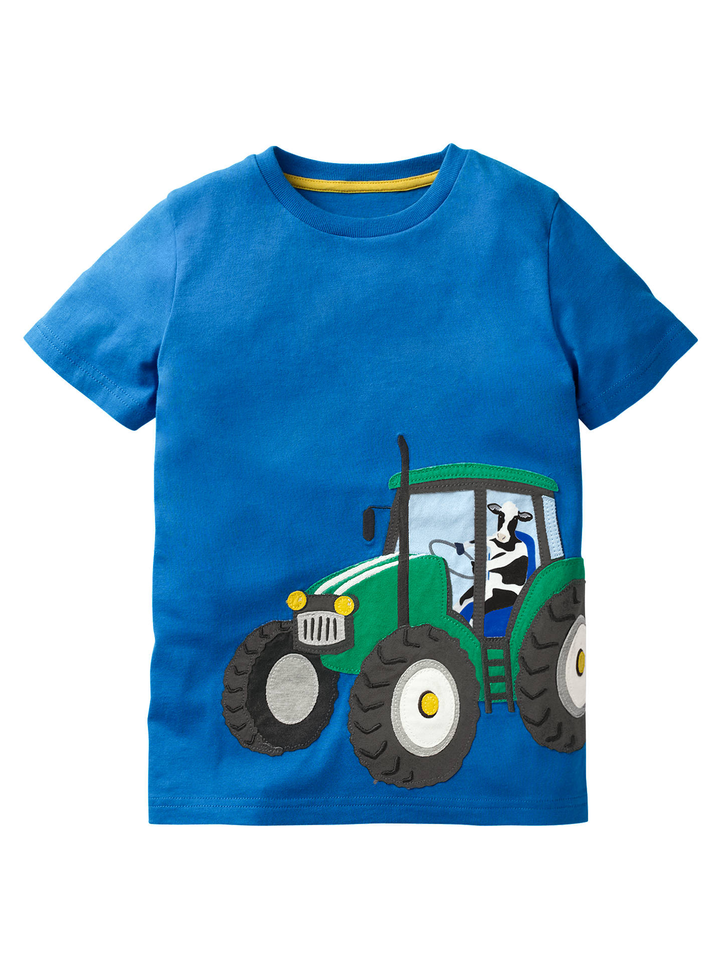Mini Boden boy's baby cotton applique top t-shirt  new shirt tee applique logo T-Shirts, Tops & Shirts Baby