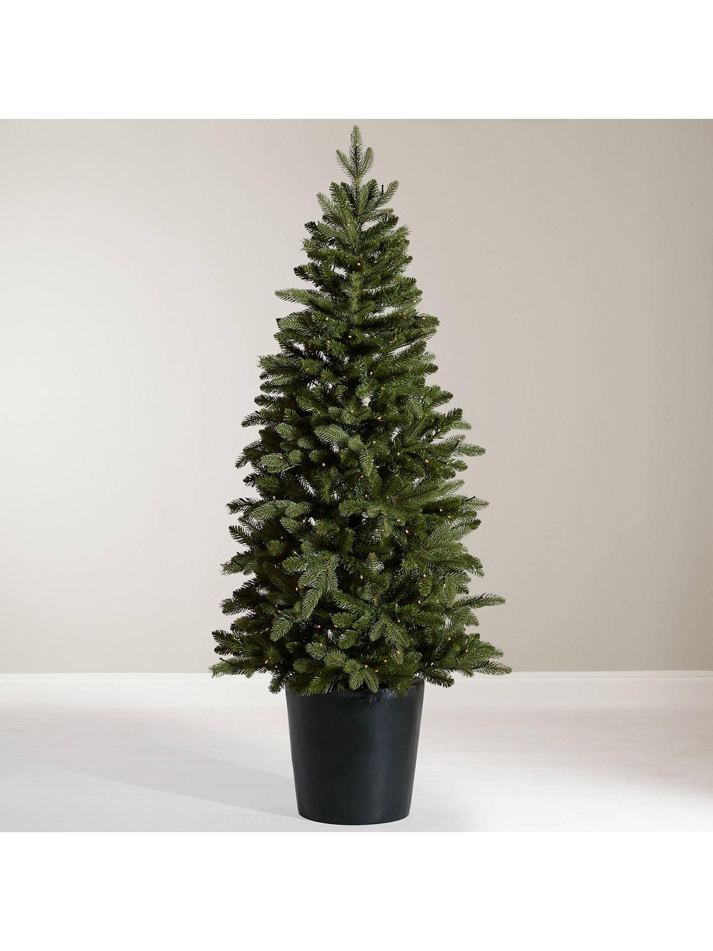 sale retailer 9103e 187c9 John Lewis & Partners Bala Potted Pre-lit Christmas Tree, 5.5ft