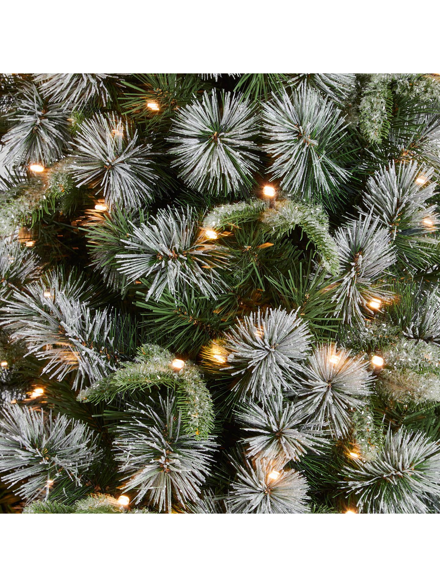John Lewis & Partners St. Anton Potted Pre-lit Christmas Tree, 6ft at John Lewis & Partners