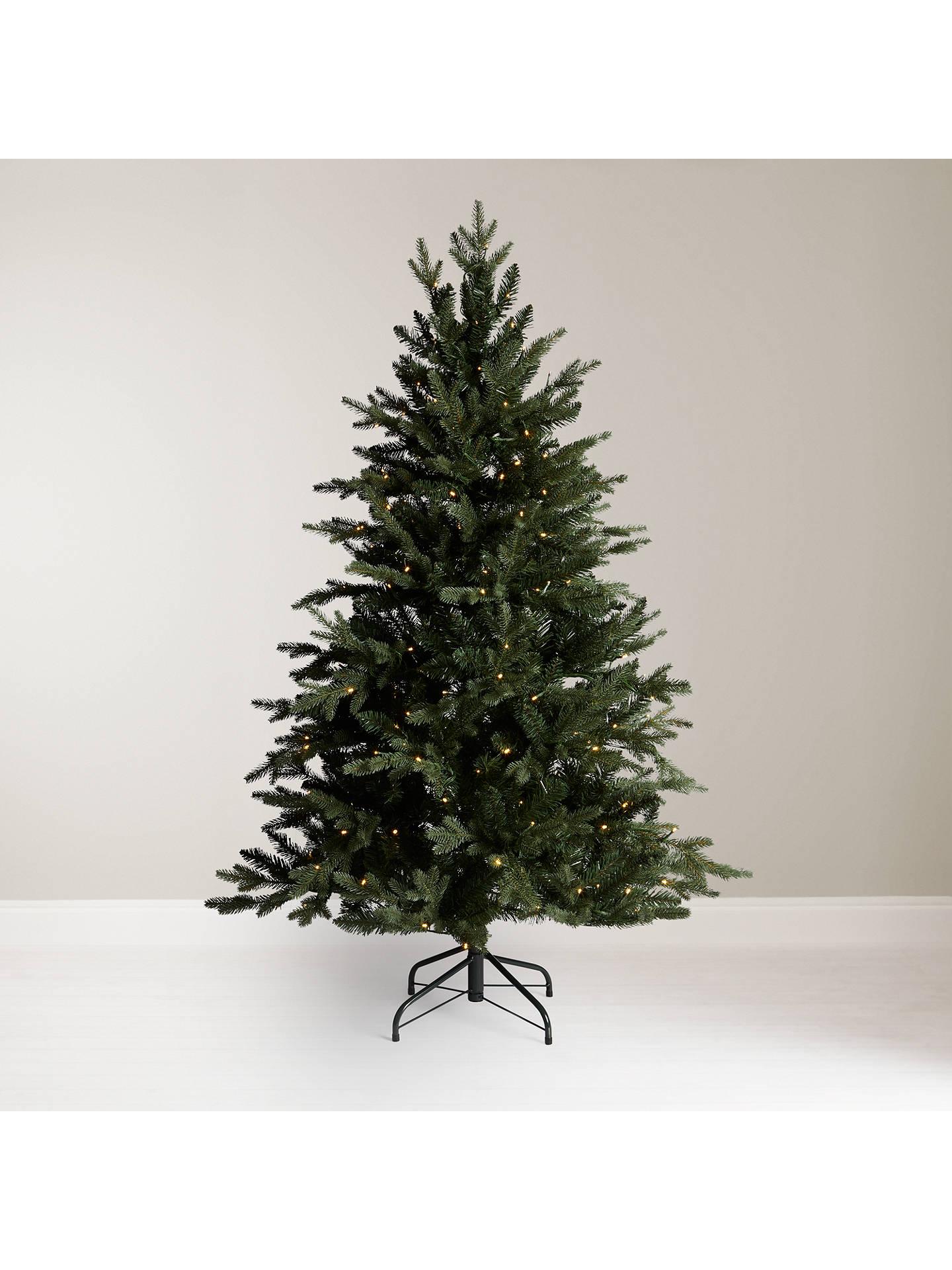 John Lewis & Partners Kensington Pre-lit Christmas Tree, 7ft at John Lewis & Partners