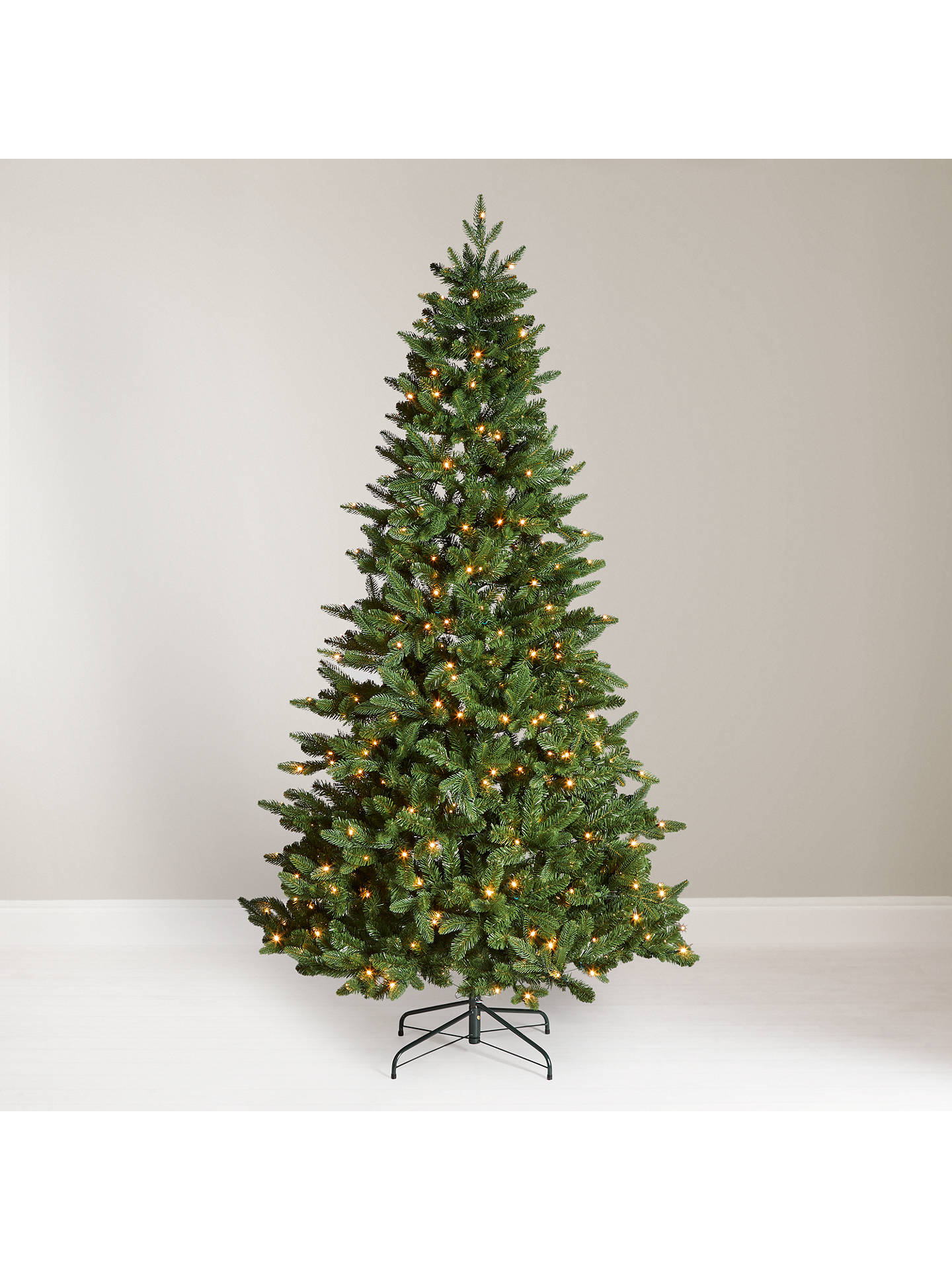 John Lewis Christmas Tree.John Lewis Partners Newington Pre Lit Christmas Tree 7ft