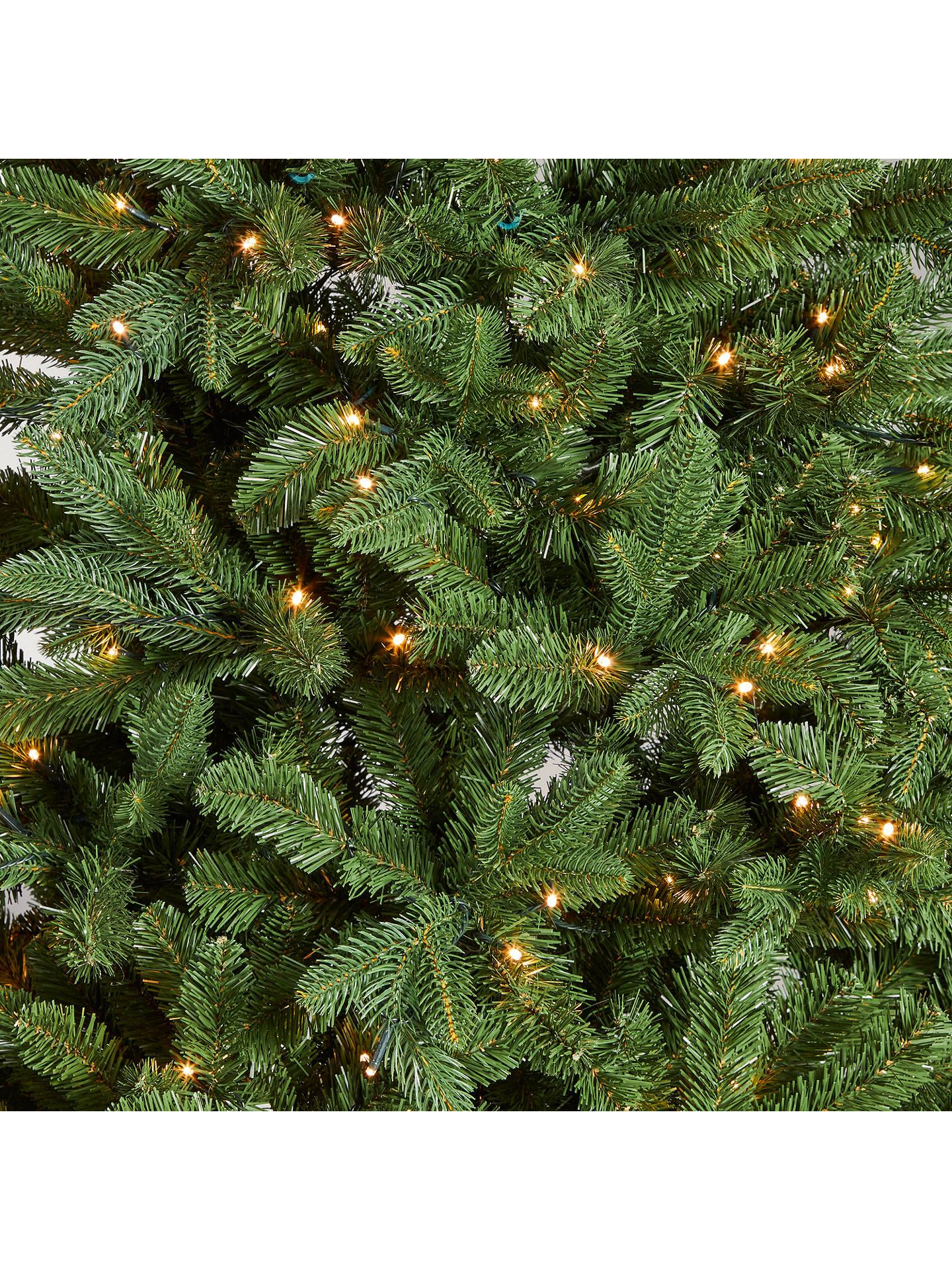 John Lewis & Partners Newington Pre-lit Christmas Tree, 7ft at John Lewis & Partners
