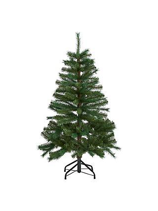 John Lewis U0026 Partners Fireside Unlit Christmas Tree, ...