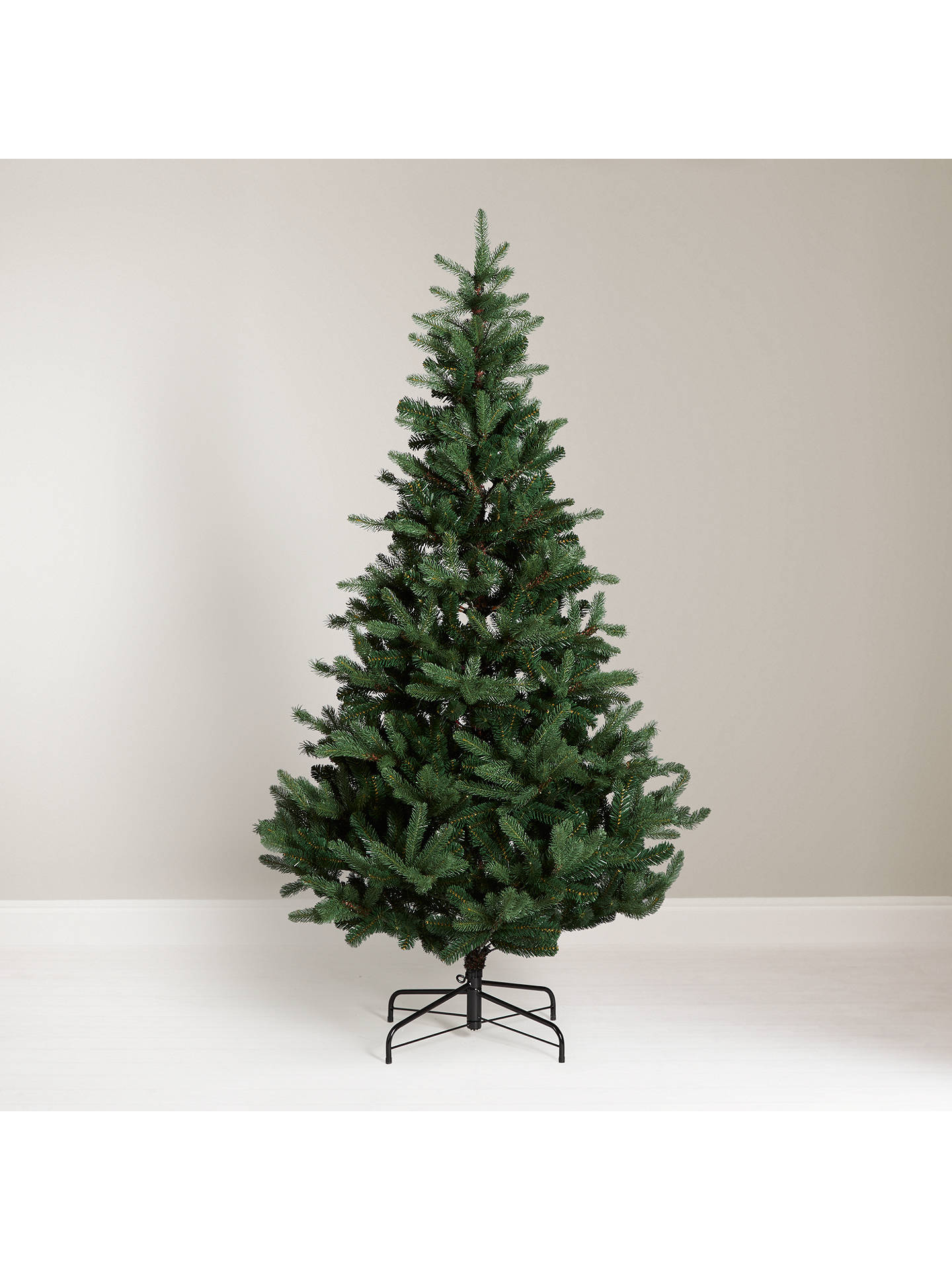low priced d7a12 be0f9 John Lewis & Partners Fraser Fir Unlit Christmas Tree, 7ft