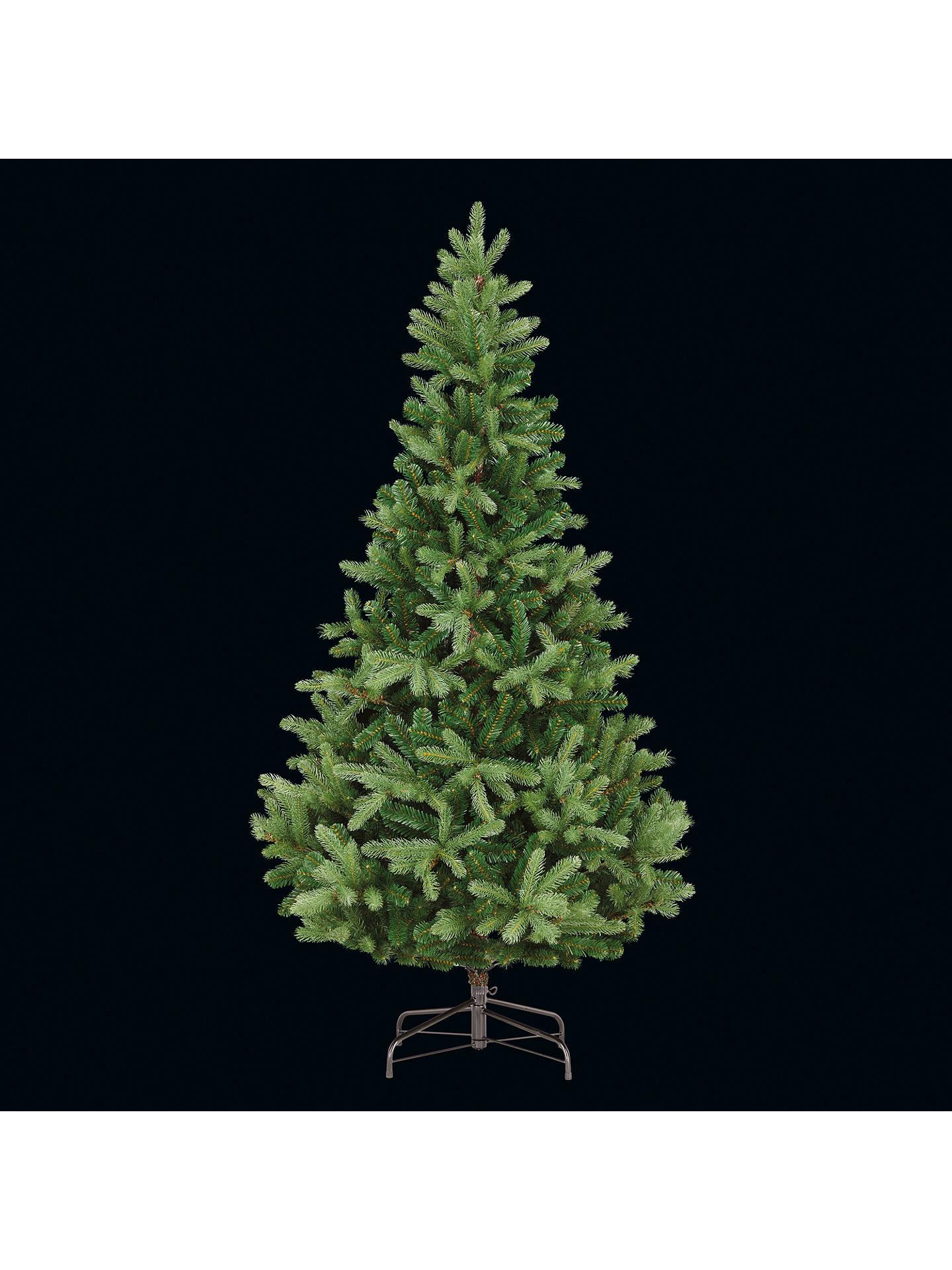 Frasier Fir Christmas Tree.John Lewis Partners Fraser Fir Unlit Christmas Tree 7ft