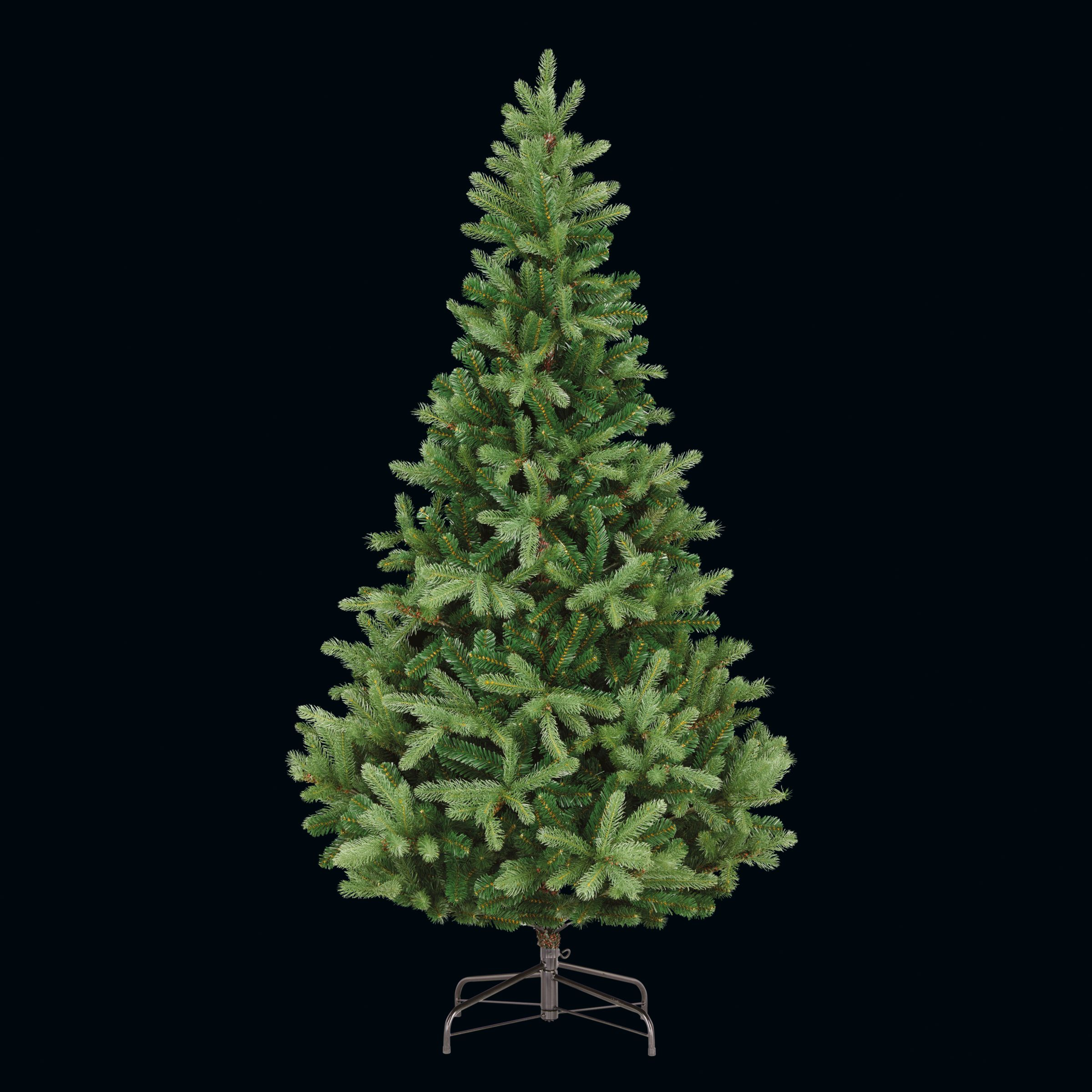 John Lewis Partners Fraser Fir Unlit Christmas Tree 7ft At John Lewis Partners