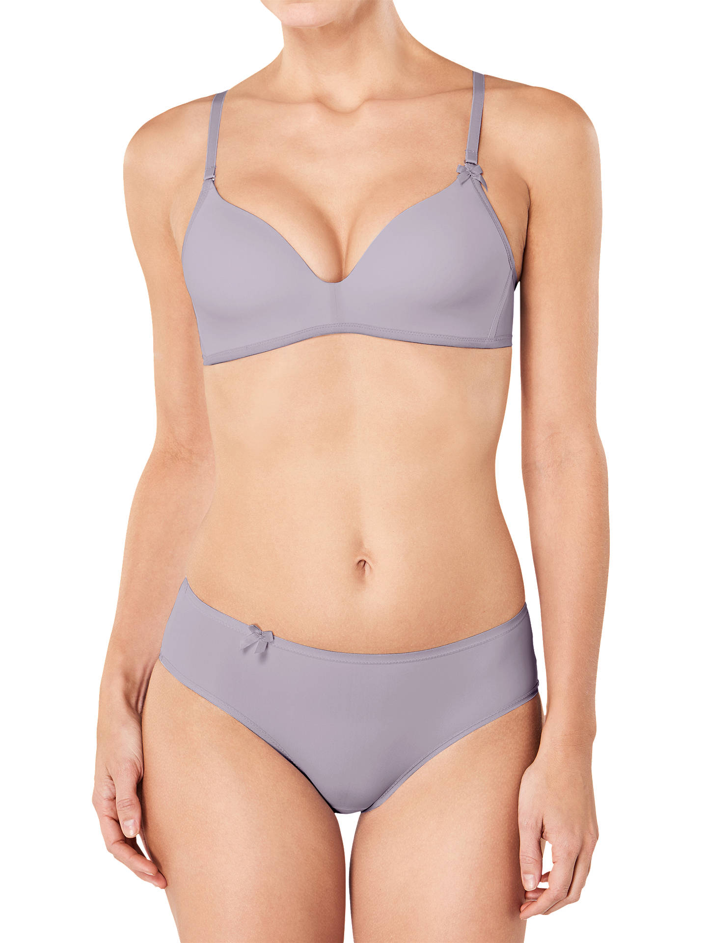 Buy sloggi Wow Comfort Padded Bra, Feather, 32B Online at johnlewis.com