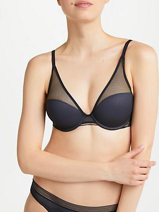 Triumph Infinite Sensation Plunge Bra, Black