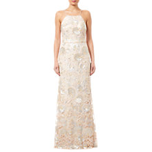 Buy Adrianna Papell Halterneck Sequin Dress Online at johnlewis.com