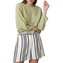 Buy Reiss Lee Long Sleeve Silk Blouse Online at johnlewis.com
