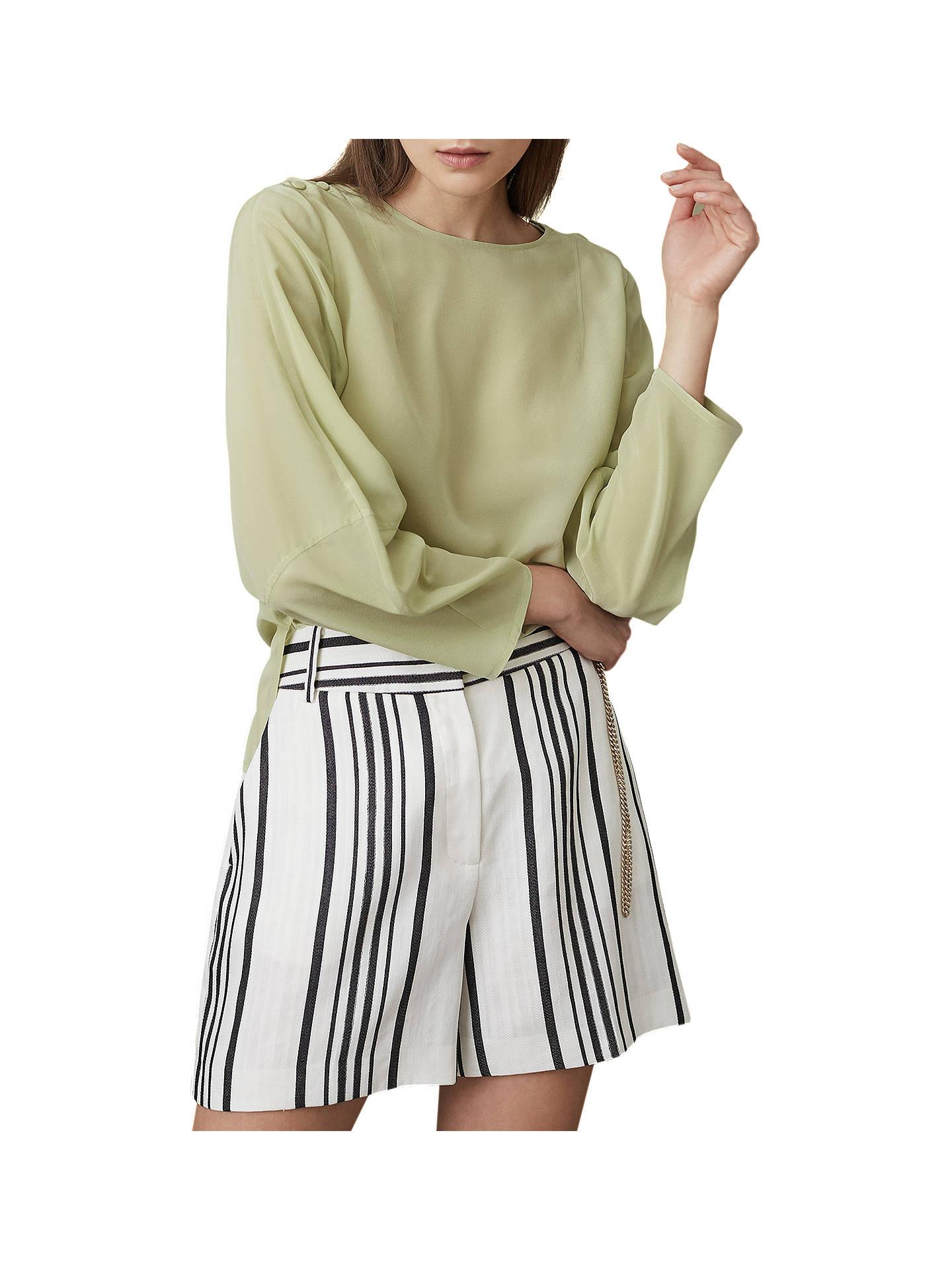 5738eed931579 Reiss Lee Long Sleeve Silk Blouse at John Lewis   Partners