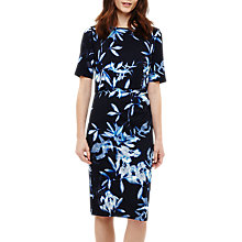 Buy Phase Eight Mira Fern Print Dress, Navy Online at johnlewis.com