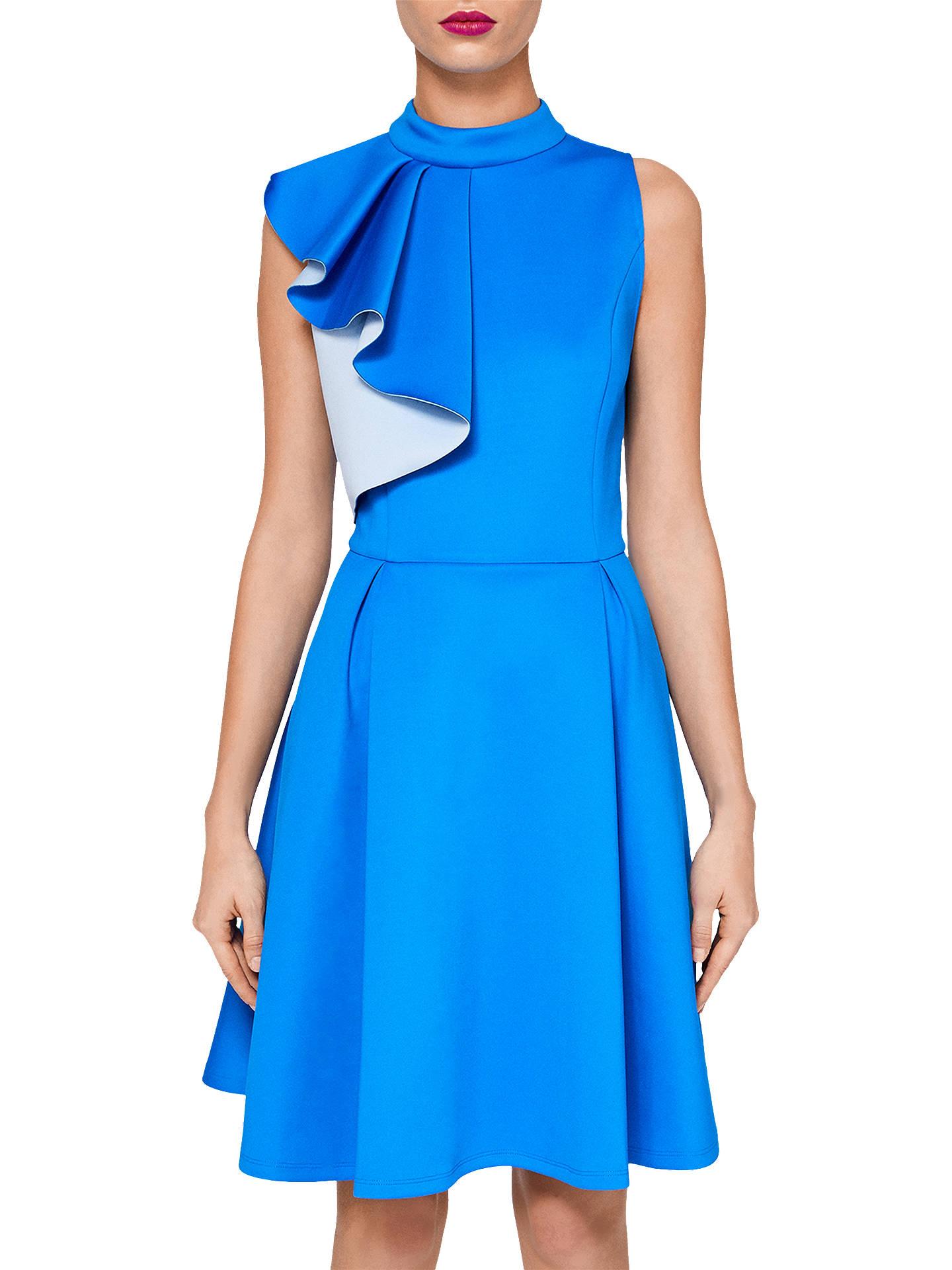 da418c6bb Buy Ted Baker Aymi Ruffle Sleeve Skater Dress