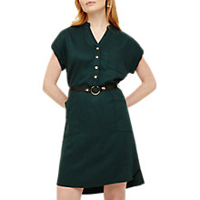 Buy Phase Eight Yasmin Dress, Hunter Green Online at johnlewis.com