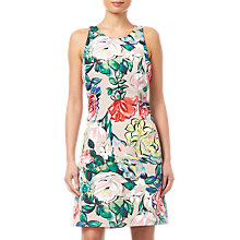 Buy Adrianna Papell Floral Printed Dress, Multi Online at johnlewis.com