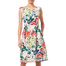Buy Adrianna Papell Stained Glass Dress, Multi Online at johnlewis.com
