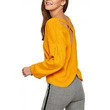 Buy Miss Selfridge Cross Back Compact Jumper Online at johnlewis.com