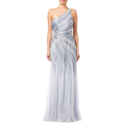 Adrianna Papell Beaded Mermaid Gown, Serenity