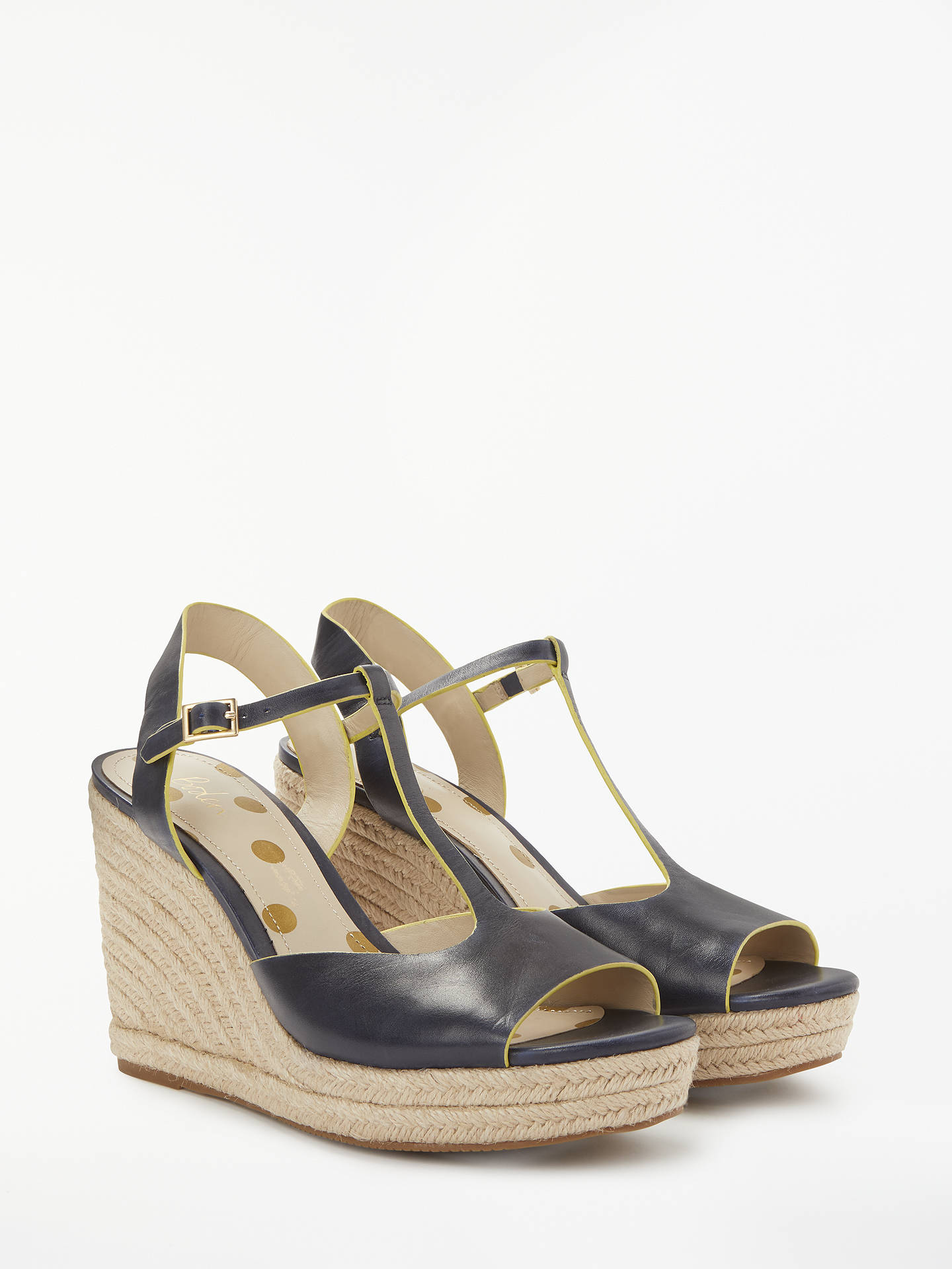 3058602a1a3 Boden Carrie Espadrille Wedge Heel Sandals at John Lewis   Partners
