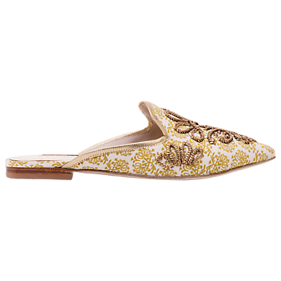 Boden Gilly Flat Sandals, Yellow