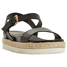 Buy Dune Lissy Espadrille Flatform Sandals Online at johnlewis.com