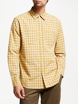 JOHN LEWIS & Co. Seattle Check Shirt, Yellow