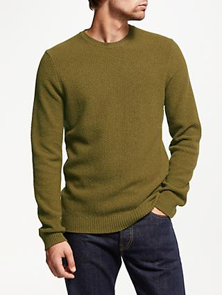 JOHN LEWIS & Co. Merino Yak Stitch Jumper
