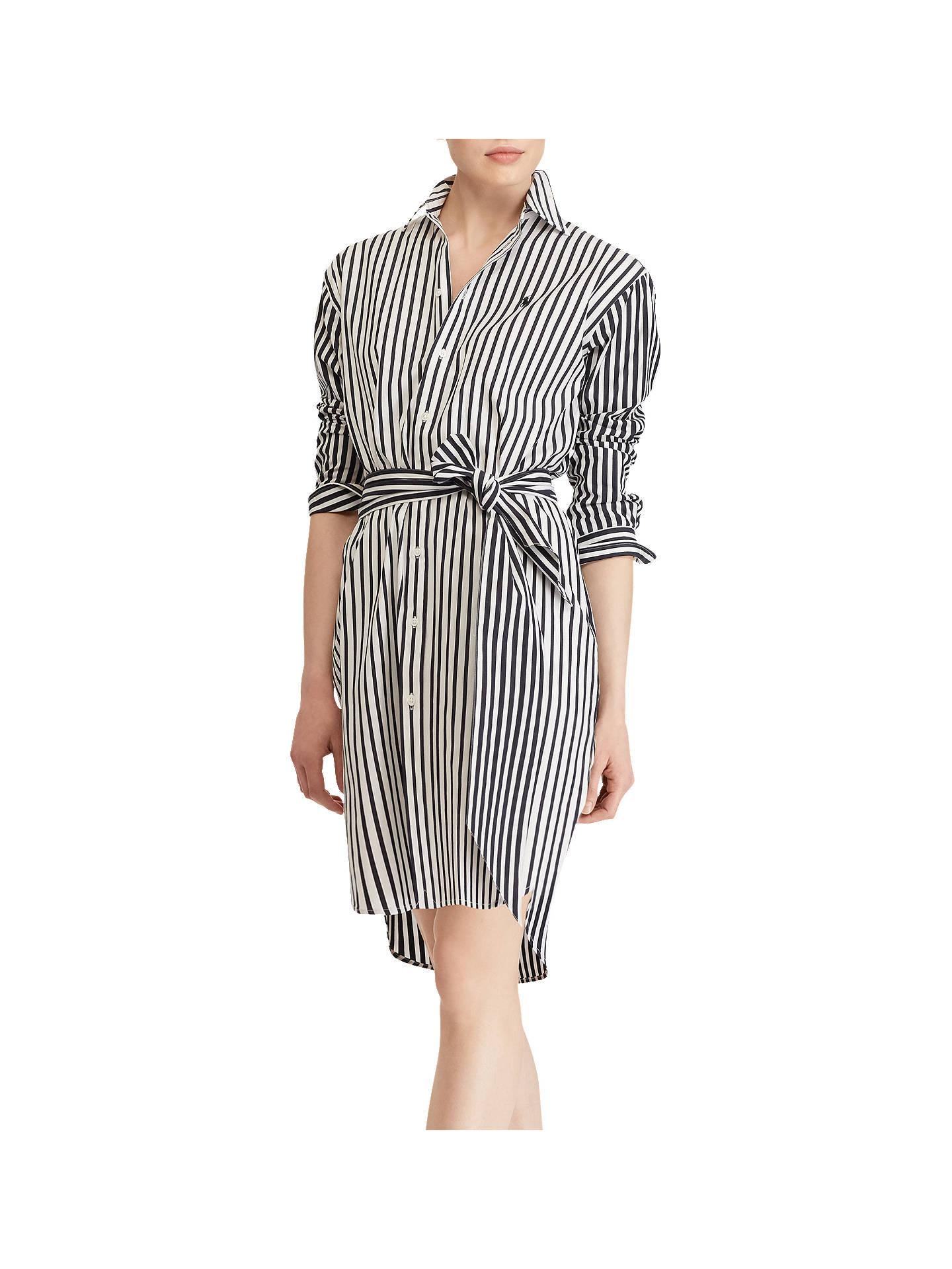 Polo Ralph Lauren Women's Striped Shirt BlackWhite 8