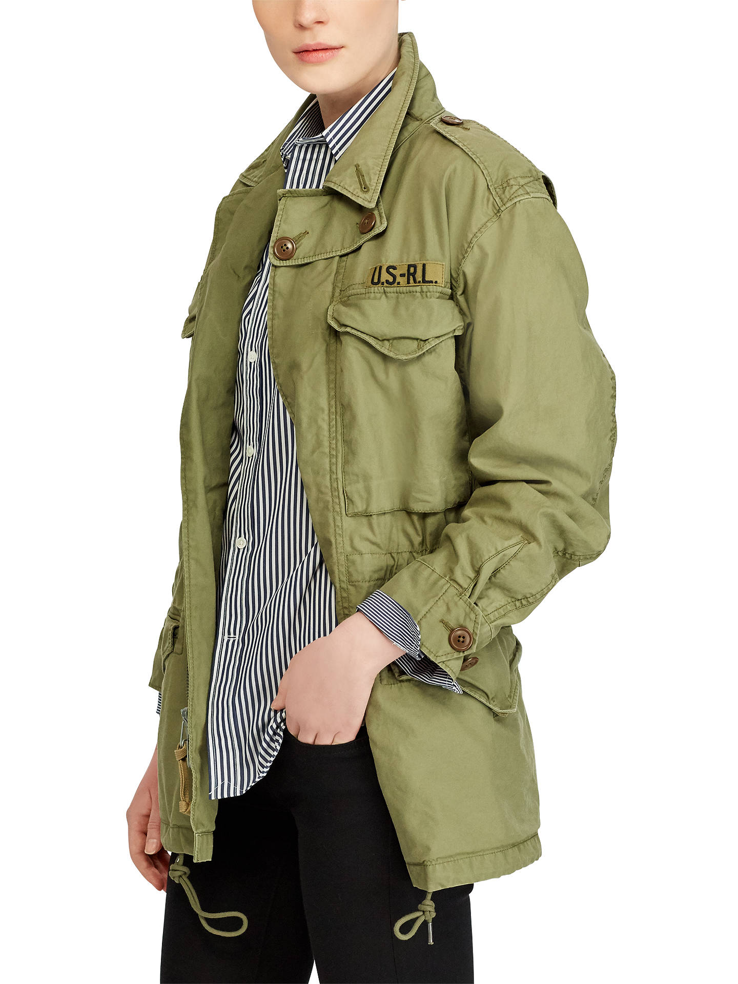 6bcadd7c8908c Buy Polo Ralph Lauren Cotton Twill Jacket