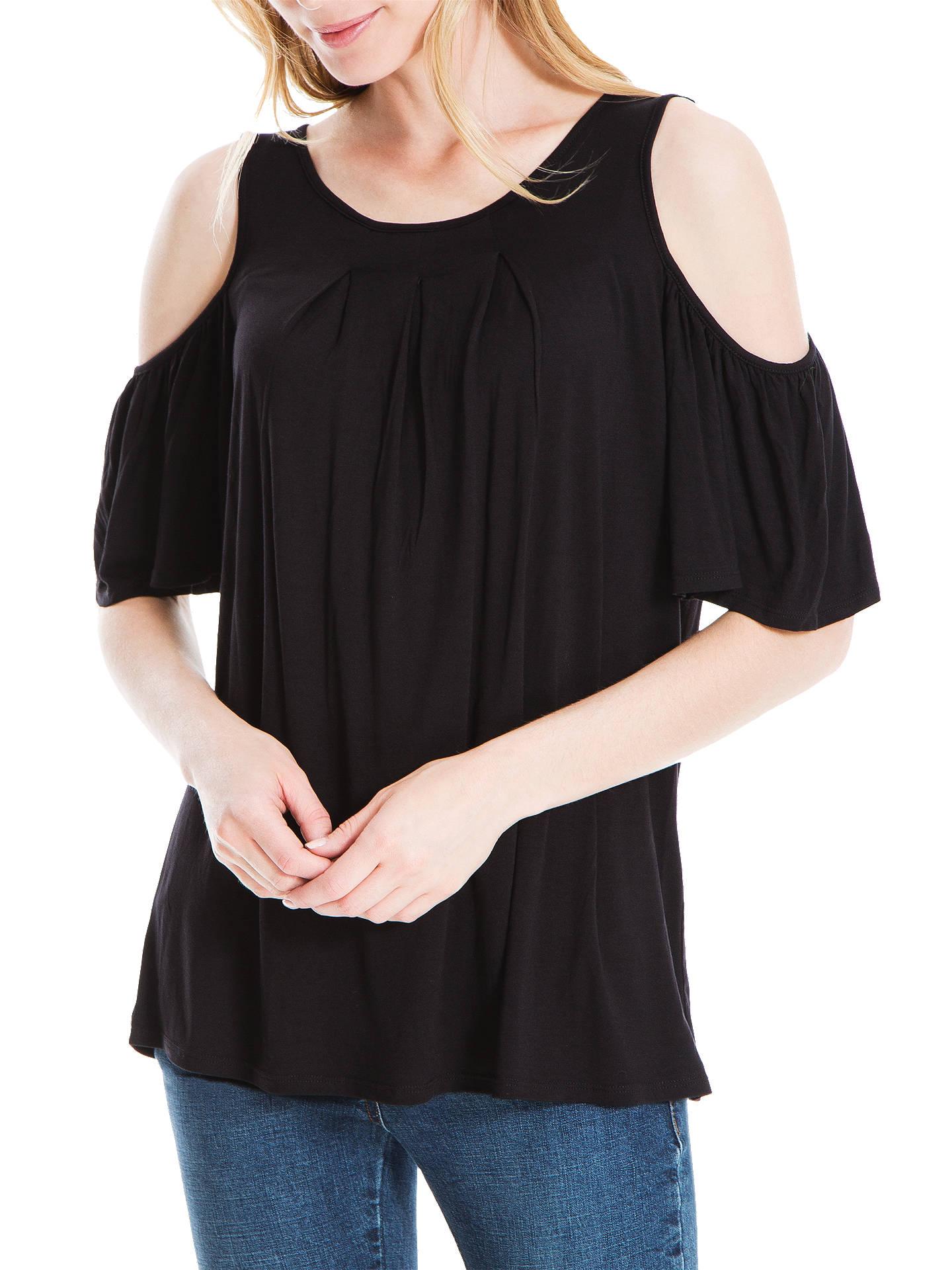 03897a5a00d51 Buy Max Studio Cold Shoulder Jersey Top
