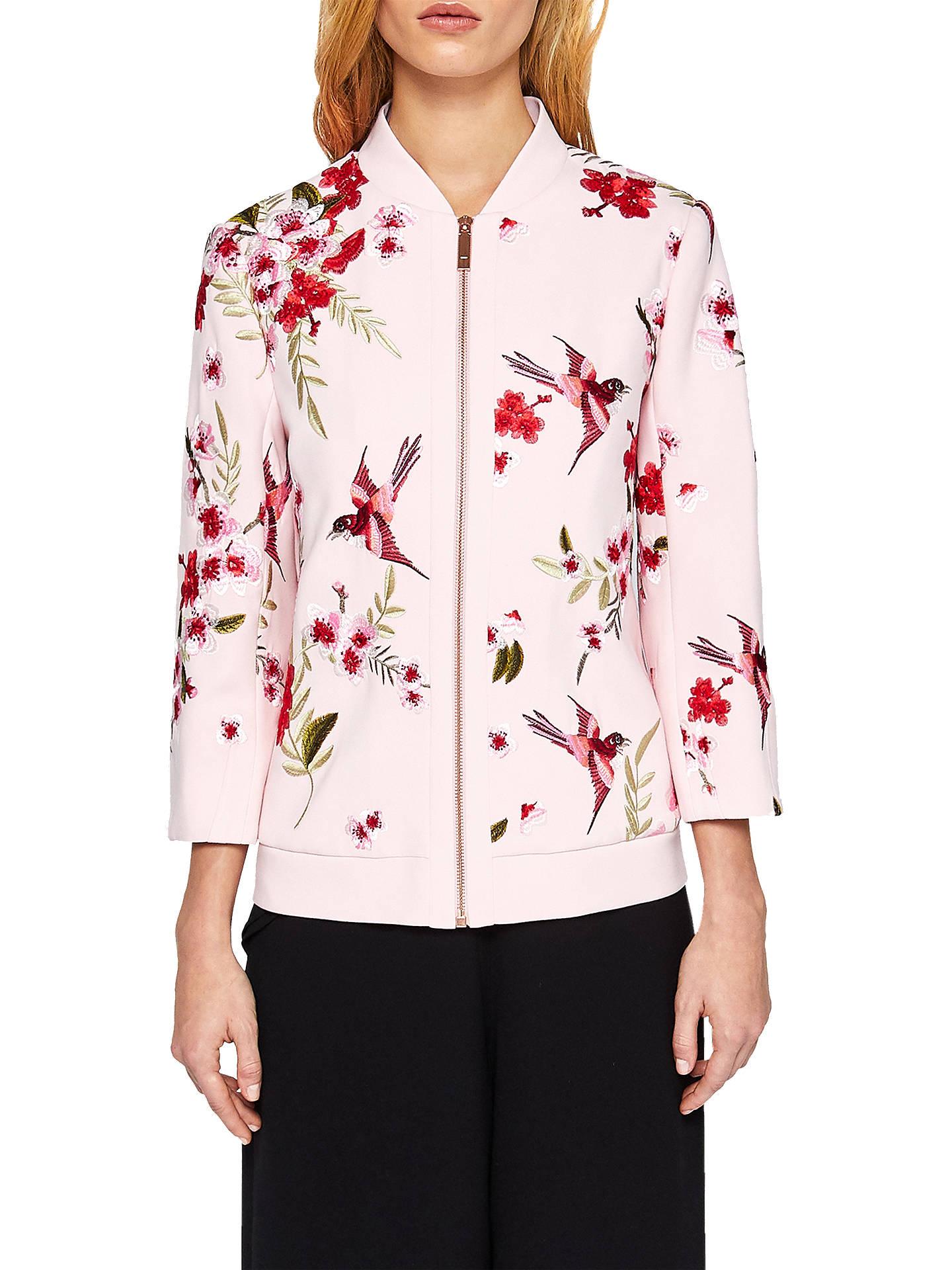 72c12e37715150 Buy Ted Baker Leelah Soft Blossom Bomber Jacket