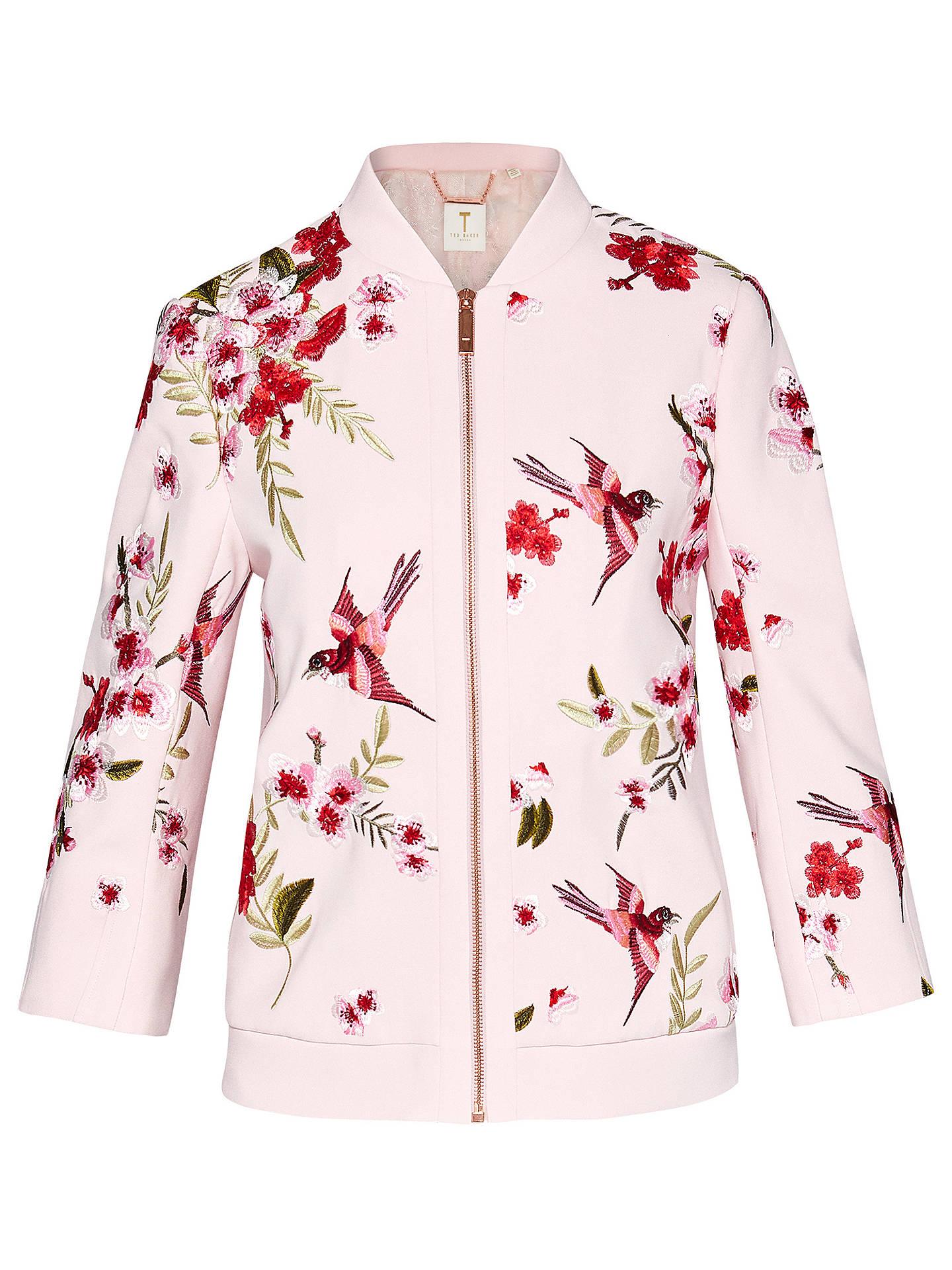 0376bf69a57ff0 ... Buy Ted Baker Leelah Soft Blossom Bomber Jacket