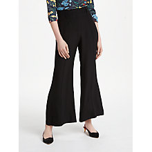 Buy Finery Sylvester Flared Trousers, Black Online at johnlewis.com