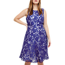 Buy Studio 8 Kew Sleeveless Dress, Cobalt/Ivory Online at johnlewis.com