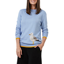 Buy Sugarhill Boutique Rita Seagull Sweater, Blue Online at johnlewis.com
