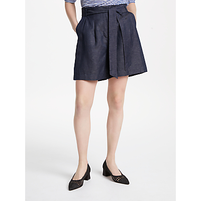 Finery Carrington Shorts, Indigo