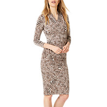 Buy Damsel in a Dress Kacey Leopard Print Dress, Brown Leopard Online at johnlewis.com