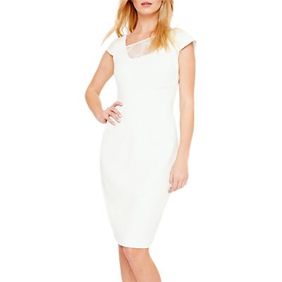 Damsel in a Dress Clivedon Lace Trim Dress, Cream Ivory