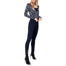 Buy Damsel in a Dress Bree Cropped 7/8 Trousers, Navy Online at johnlewis.com