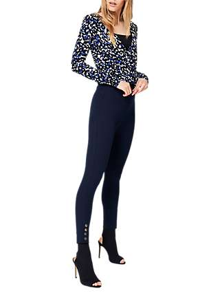 Damsel in a Dress Bree Cropped 7/8 Trousers, Navy