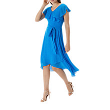 Buy Coast Dobby Wrap Dress, Blue Online at johnlewis.com