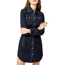 Buy Warehouse Denim Western Shirt Dress Online at johnlewis.com