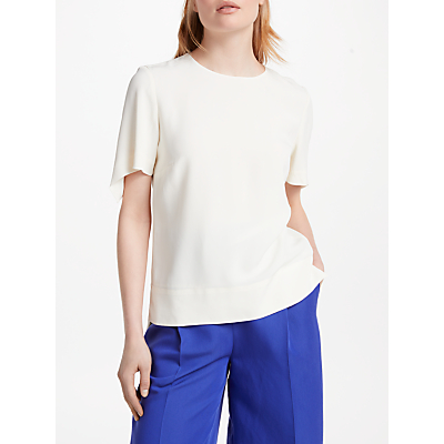 Finery Chepstow Shell T-Shirt, Ivory