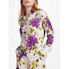 Buy Finery Bessera Printed Shirt, Artist Flower Online at johnlewis.com