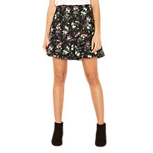 Buy Oasis Secret Garden Flippy Skirt, Multi Online at johnlewis.com